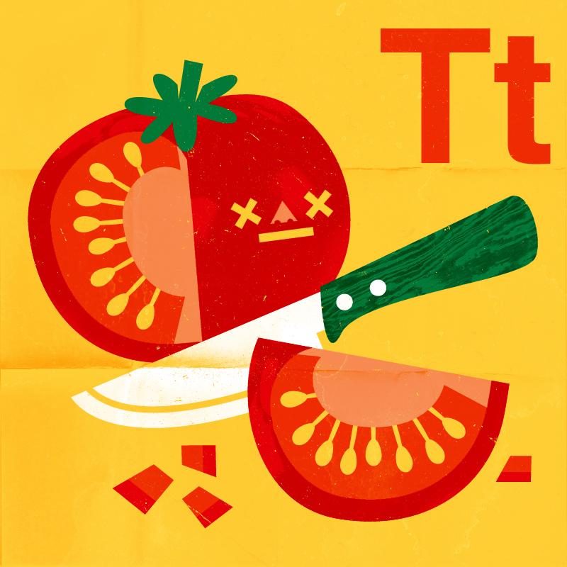 't is for tomato' by Philip Tseng